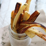Truffle Parsnip Fries