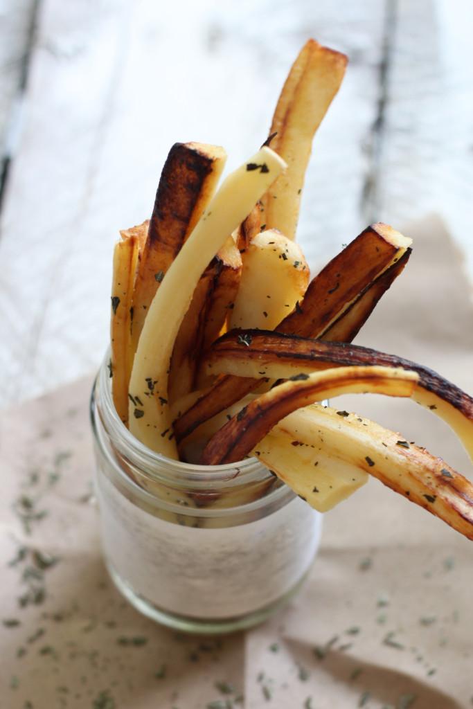 Truffle Parsnip Fries