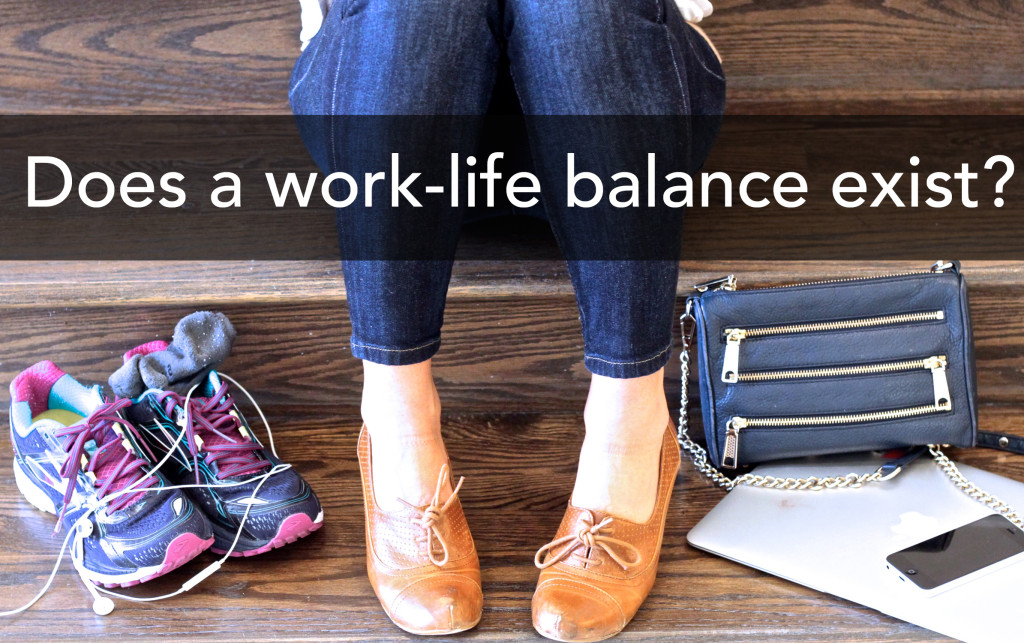 Does a work-life balance exist?