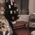 Parking ticket Christmas tree