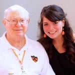 Me and grandpa at Princeton