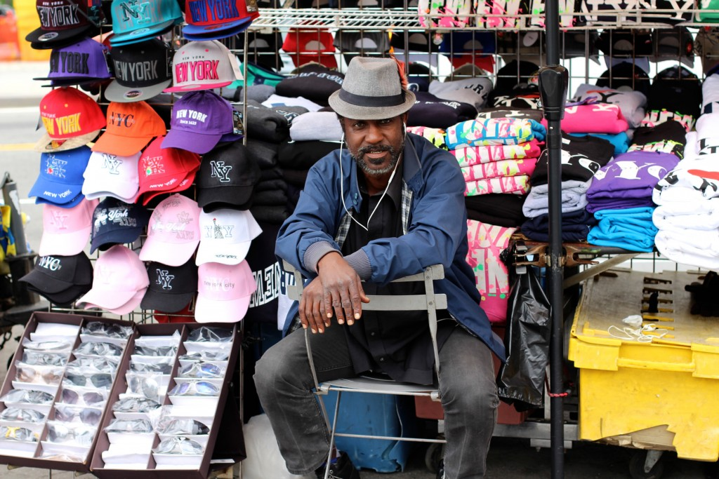 NYC street seller